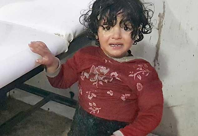 البراءة تحترق في سوريا