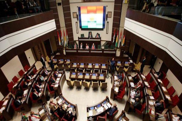 برلمان كردستان منعقدا