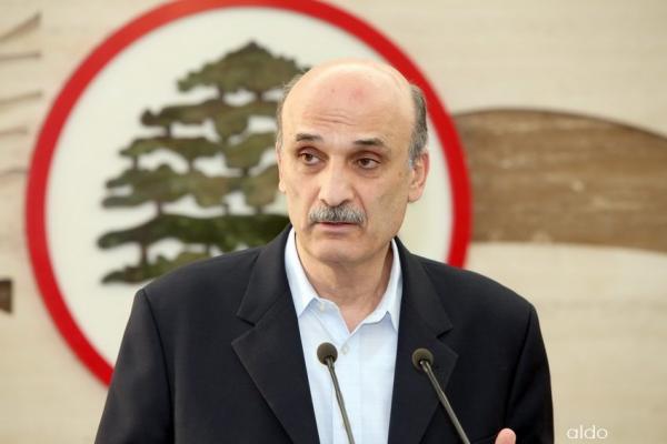 قائد القوات اللبنانية سمير جعجع