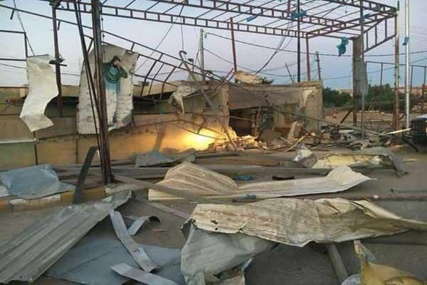 تفجير مؤسسة تابعة للصدر في محافظة ميسان الجنوبية