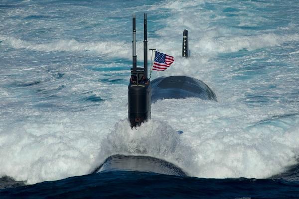 غواصة تابعة للبحرية الأميركية - أرشيفية