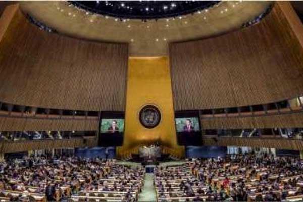غالبية كبرى في الجمعية العامة للأمم المتحدة تدين إسرائيل