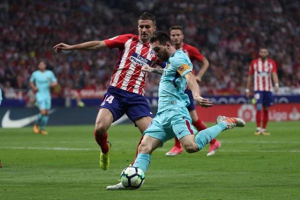 أتلتيكو يوقف انتصارات برشلونة