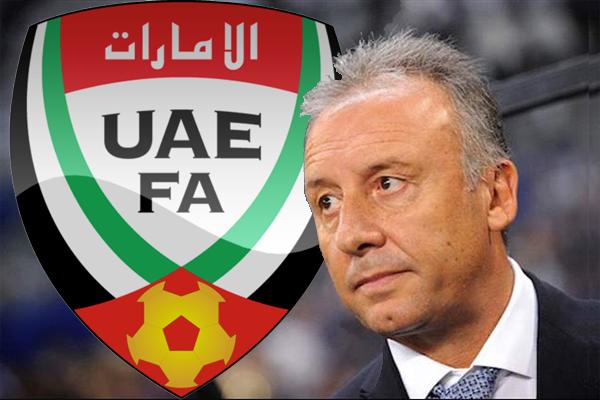 الإيطالي زاكيروني مدربا للمنتخب الإماراتي