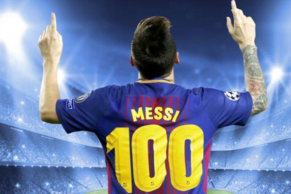 ميسي سجل كافة أهدافه في المباريات القارية خلال خوضه لمسابقتي دوري أبطال أوروبا والسوبر الأوروبي