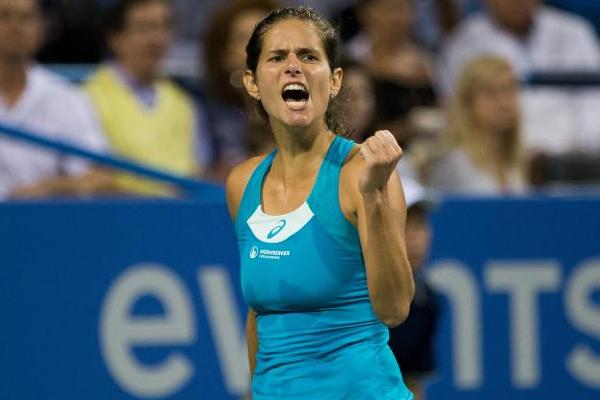 بلغت الالمانية يوليا جورج المصنفة سابعة الدور نصف النهائي لدورة كأس الكرملين في موسكو لكرة المضرب