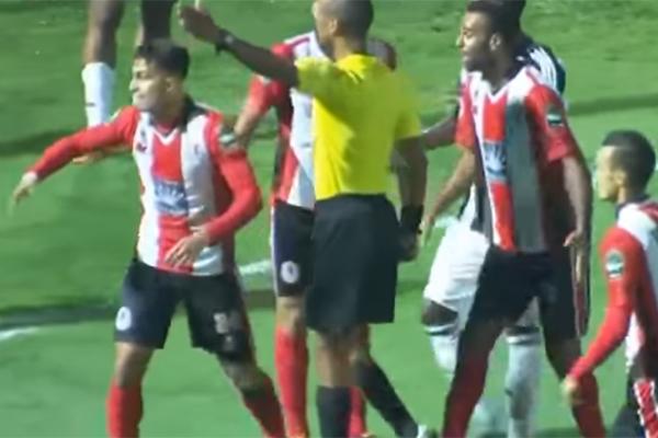الفتح الرباطي خسر صفر-1 ذهابا في لوبومباشي (صورة تلزيونية)