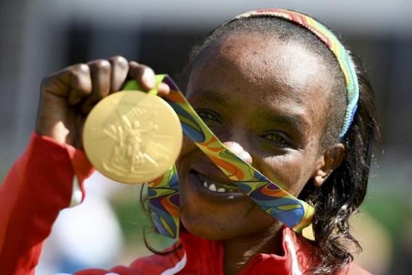إيقاف بطلة الماراتون الأولمبية الكينية سامغونغ أربعة أعوام