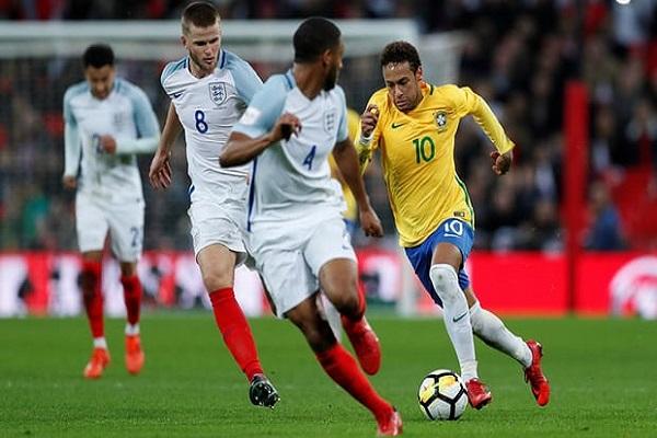 تعادل سلبي بين انكلترا والبرازيل