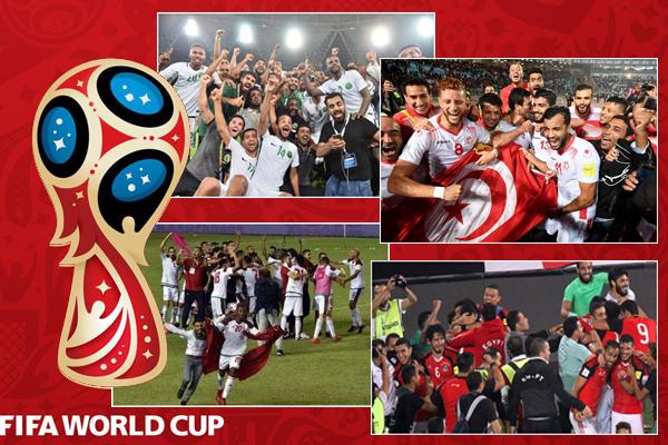 سجلت تصفيات مونديال روسيا 2018 عودة أربعة منتخبات عربية لأجواء النهائيات العالمية بعد غياب طويل