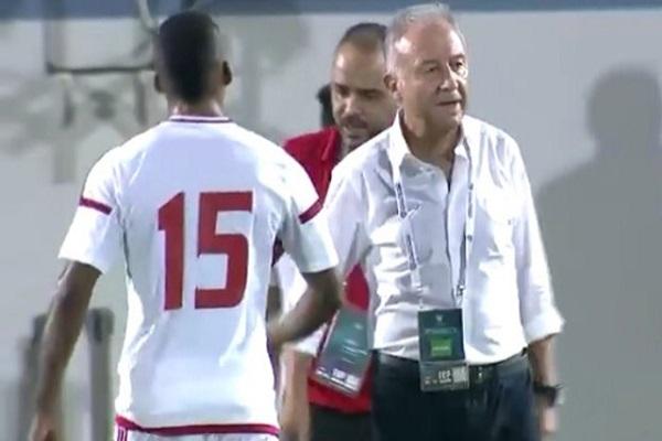 خسارة الإمارات أمام هايتي وديا