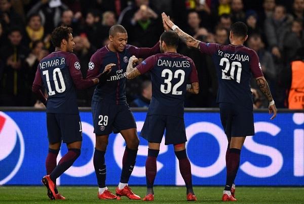 باريس سان جرمان يواصل انتصاراته العريضة