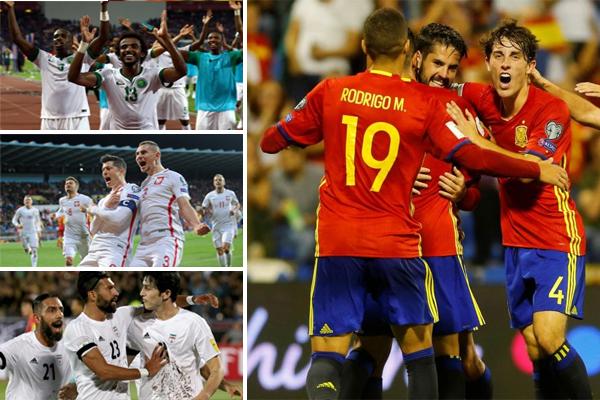 الإسبان يفضلون مواجهة منتخبات سهلة في دور المجموعات لضمان التأهل للدور الثاني من البطولة