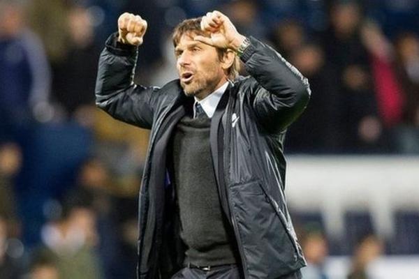 يحتل فريق تشيلسي، الذي يدربه كونتي، المركز الثالث في ترتيب الدوري الإنجليزي الممتاز