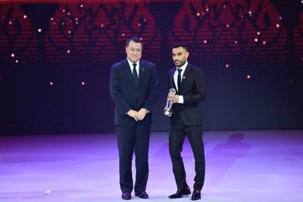 جائزة أفضل لاعب بكرة الصالات: علي أشقر حسن زاده