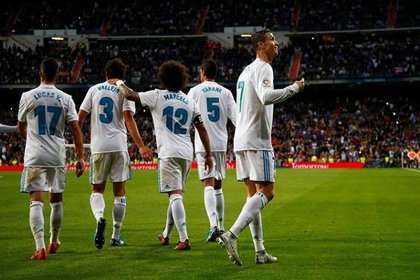 ريال مدريد يتخطى ملقة بصعوبة في الدوري الإسباني