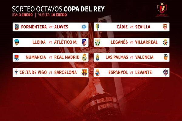 برشلونة يصطدم بسلتا فيغو وريال ياجه فريق درجة ثانية في كأس إسبانيا