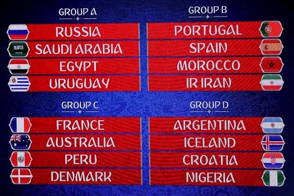 تعليقات وردود فعل على قرعة كأس العالم