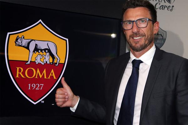 دي فرانشيسكو (48 عاما) ليس غريبا على روما، إذ دافع عن الوان نادي العاصمة كلاعب وسط بين 1997 و2001