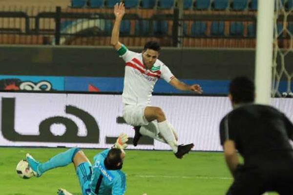 تأهل الزمالك الى الدور ربع النهائي من مسابقة كأس مصر لكرة القدم بعد فوز سهل على مضيفه حرس الحدود من الدرجة الثانية
