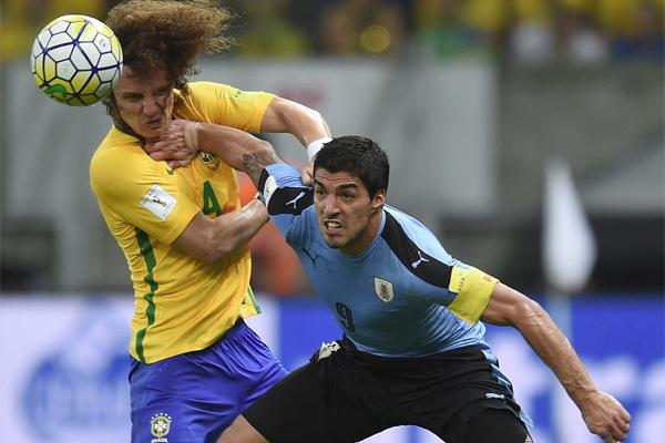 تسعى الاوروغواي الى وقف سلسلة من ستة انتصارات متتالية للبرازيل