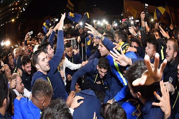 بوكا جونيورز يتوج بطلا للدوري الأرجنتيني