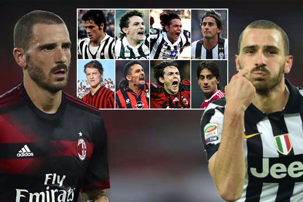 أصبح المدافع الإيطالي الدولي ليوناردو بونوتشي تاسع لاعب ينضم إلى نادي ميلان قادماً إليه من نادي يوفنتوس