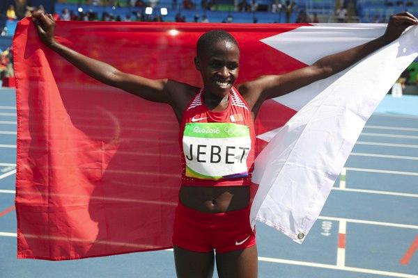تبدو البحرينية روث جيبيت مرشحة قوية لمنح بلادها ميداليتها الثالثة في بطولة العالم لالعاب القوى