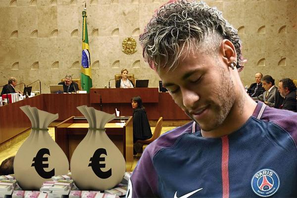 أعلن محامو النجم البرازيلي نيمار ان الأخير سيدفع غرامة قدرها 2