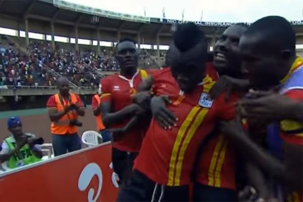احبطت اوغندا خطة المدرب الارجنتيني هكتور كوبر وفرملت مصر بفوزها عليها 1-صفر