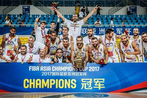 أحرز النادي الرياضي اللبناني لقب بطولة الاندية الاسيوية في كرة السلة للمرة الثانية في تاريخه
