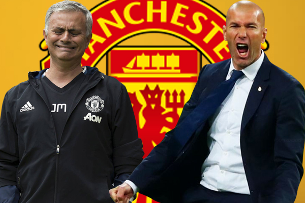 في حال أُقيل مورينيو من تدريب مانشستر يونايتد ، فإن إدارة الأخير رشحت عدداً من الاسماء لخلافته على رأسهم زيدان