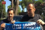 أوسبينا يحمل شعار نابولي
