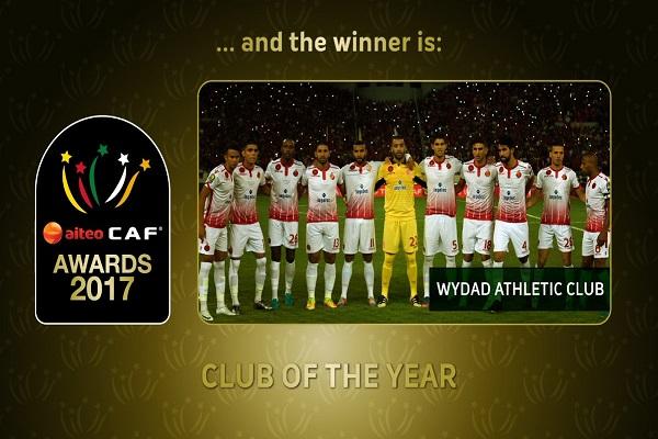 الوداد المغربي هو أفضل نادي في أفريقيا ٢٠١٧