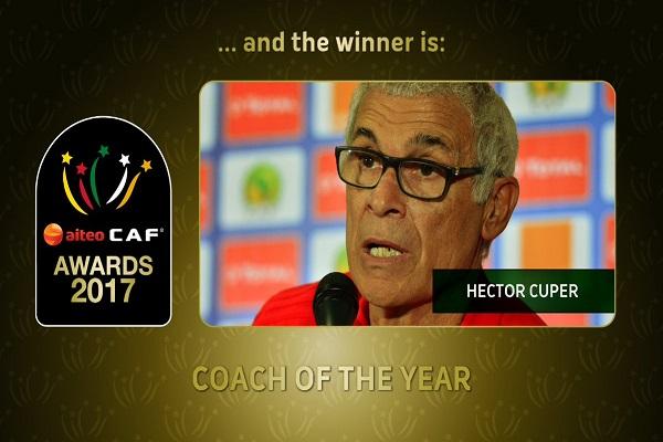 هيكتور كوبر هو أفضل مدرب في أفريقيا ٢٠١٧