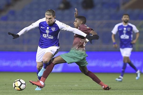 الاتفاق يفرض التعادل على الهلال المتصدر في الدوري السعودي