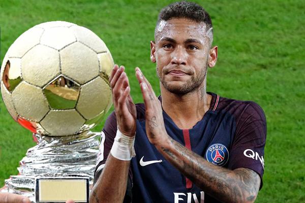 اختير المهاجم نيمار دا سيلفا نجم نادي باريس سان جيرمان الفرنسي كأفضل لاعب برازيلي في أوروبا خلال عام 2017