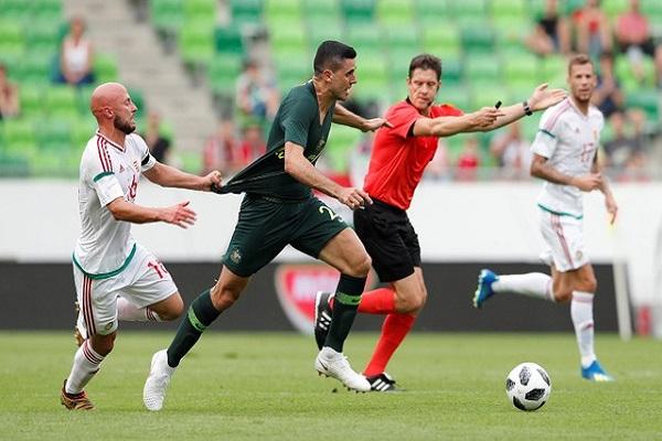 فوز أستراليا على المجر استعدادا للمونديال
