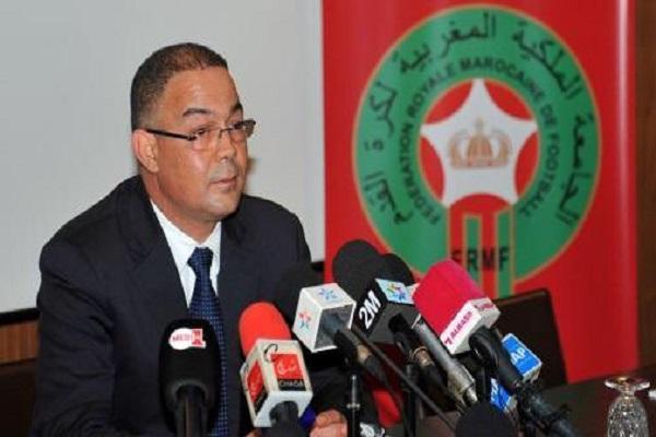 رئيس الاتحاد المغربي يأمل في بلوغ الدور الثاني