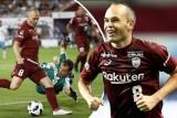 إنييستا يقود فريقه بهدف أول رائع في الدوري الياباني