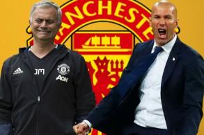 لتقي رغبة زيدان في تدريب مانشستر يونايتد مع العلاقة الفاترة بين مورينيو وملاك النادي الإنكليزي