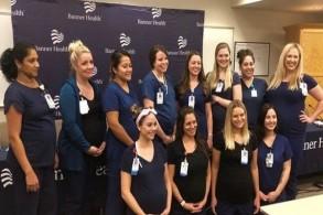 16 ممرضة حاملا في قسم واحد بمستشفى في أريزونا