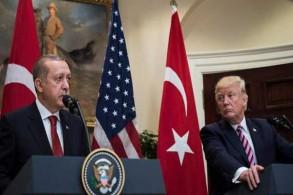 ترمب وأردوغان خلال لقاء سابق - أرشيفية