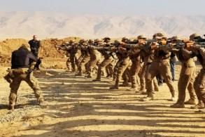 تدريبات عسكرية لعناصر الحشد الشعبي