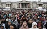بريطانيا تطمئن مسلميها باحترامها الدائم لحرية الأديان