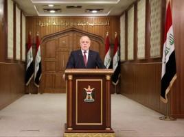العبادي مخاطبا العراقيين يوم الأحد