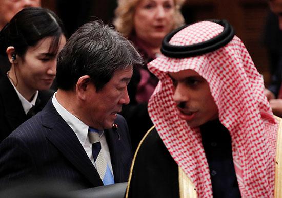 وزير الخارجية السعودى وحديث مع نظيره اليابانى