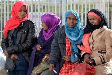 المهاجرون غير الشرعيين يرغبون في الخروج من ليبيا