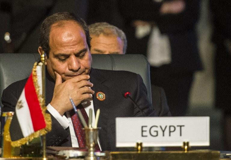 السيسي لسلام: القوة العربية ستسهم في مكافحة الارهاب