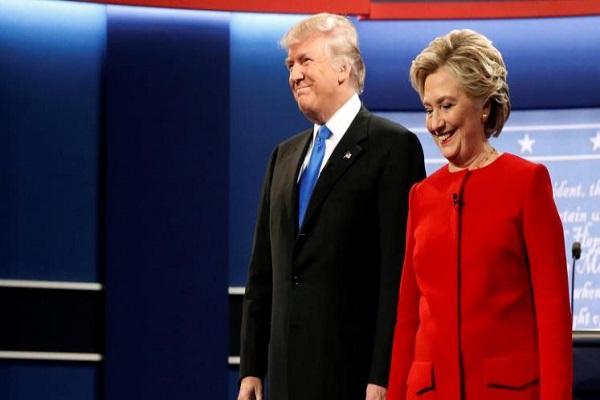 هيلاري كلينتون ودونالد ترامب